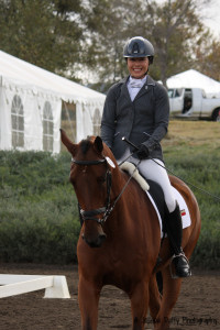 Jen McFall and Be Real YEH Dressage-1