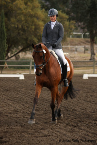 Jen McFall and Be Real YEH Dressage-2